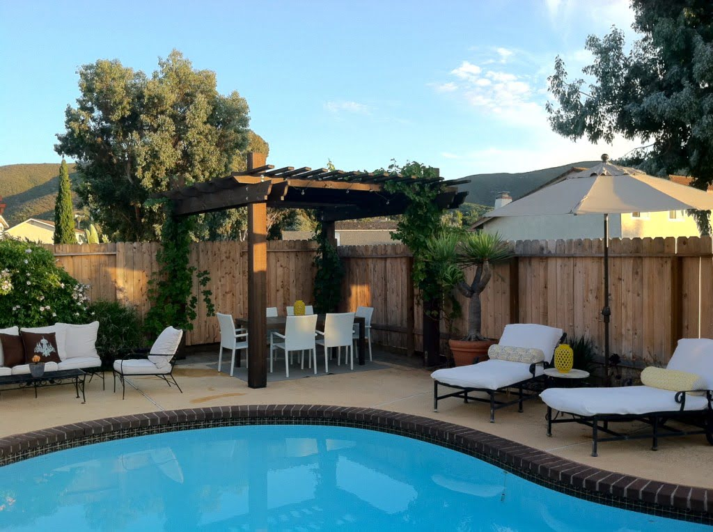 The Real Budget-friendly Backyard Makeover with Tips and ... on Patio Makeovers On A Budget id=44123