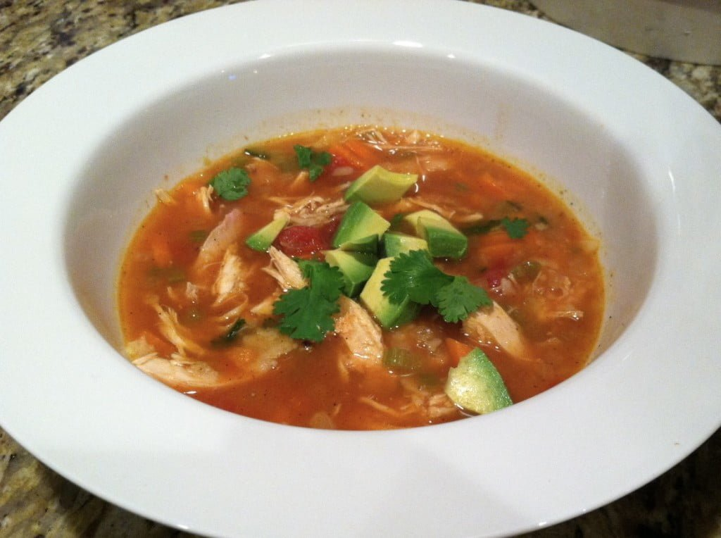 ina garten mexican chicken soup