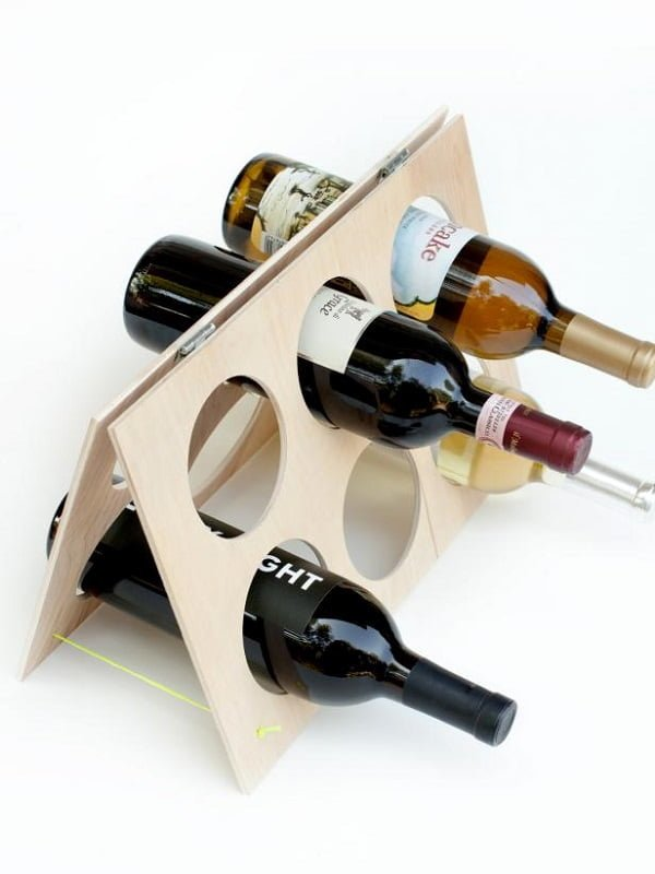 A-frame Wine Rack