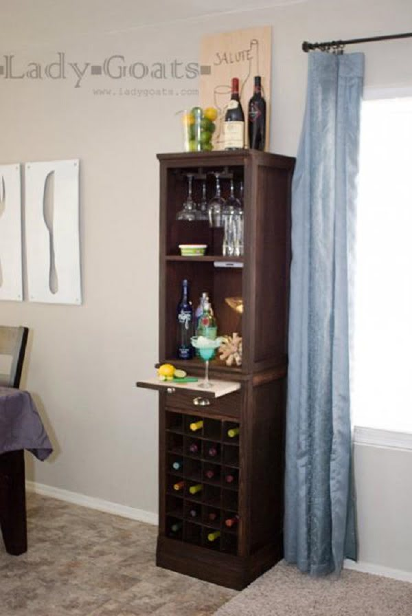 Wine Grid Hutch