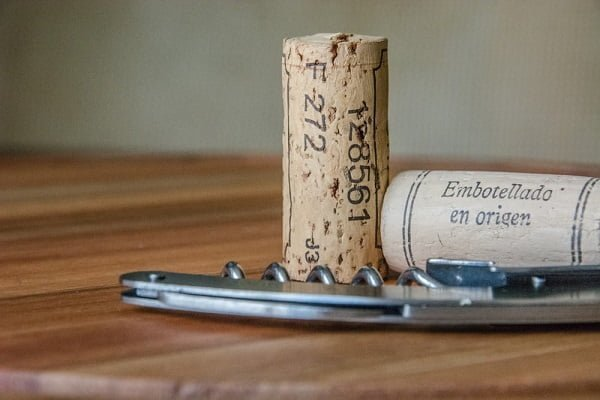 dry cork