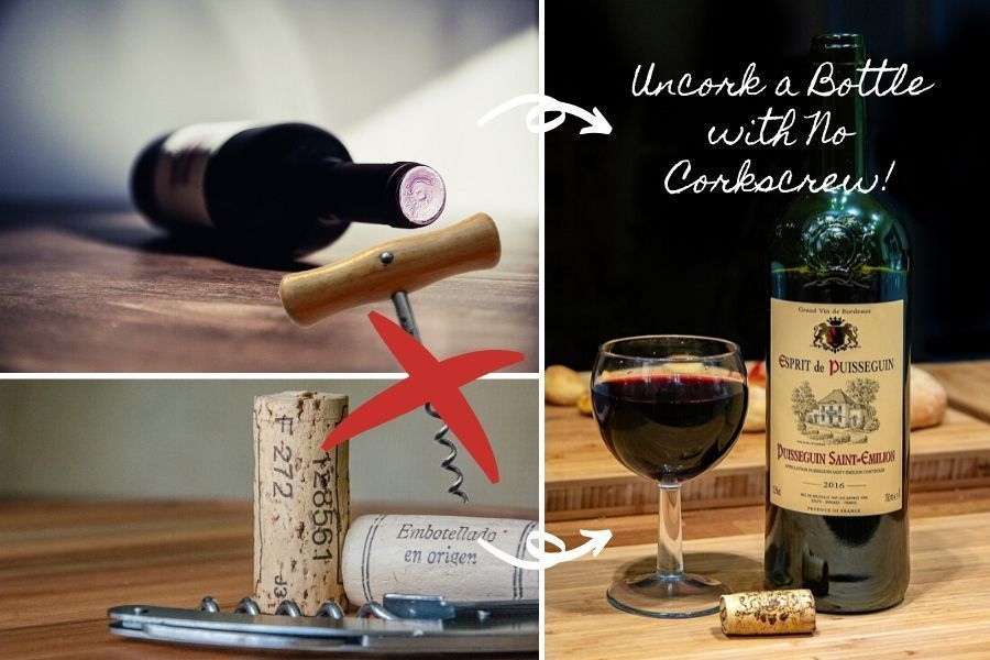 no corkscrew