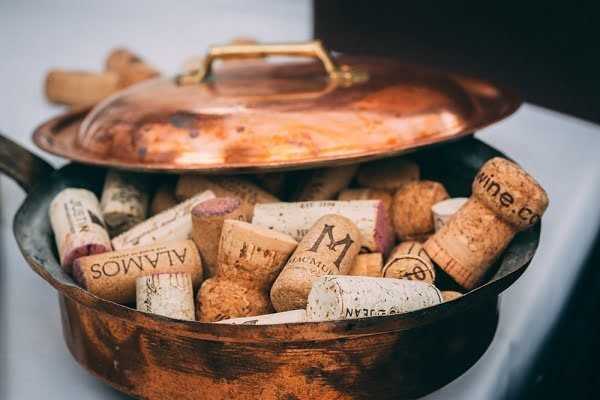 corks in a pot