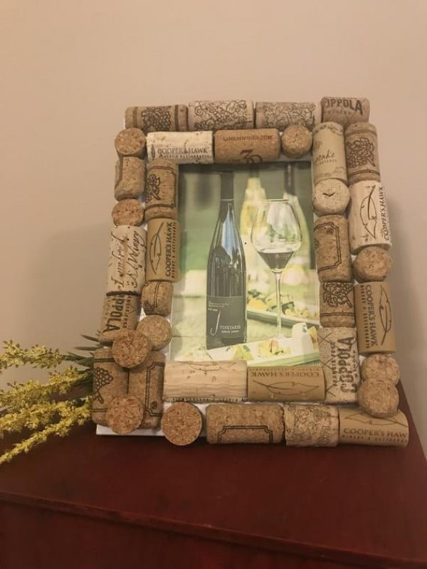 cork picture frame