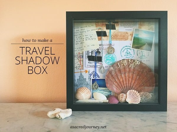 travel shadow box