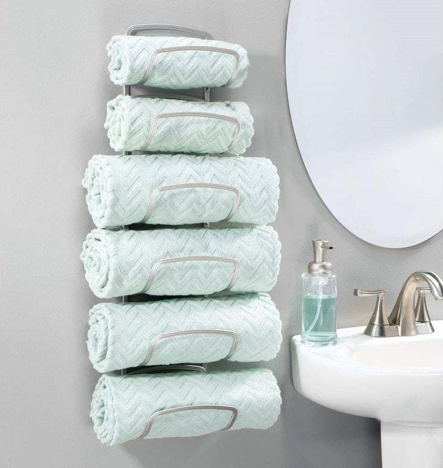 rack for rolled towels