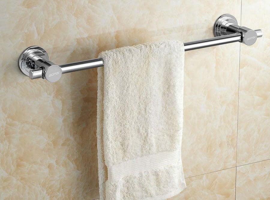 suction towel bar