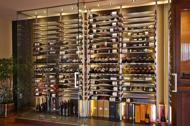 Glass wine cellar wine cellar ideas