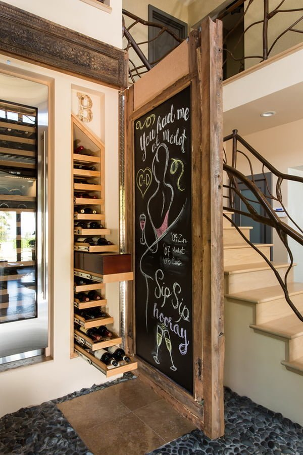 Hidden wine cellar wine cellar ideas