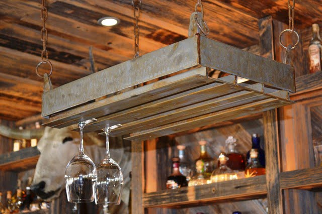 Ceiling Mounted Wine Glass Rack