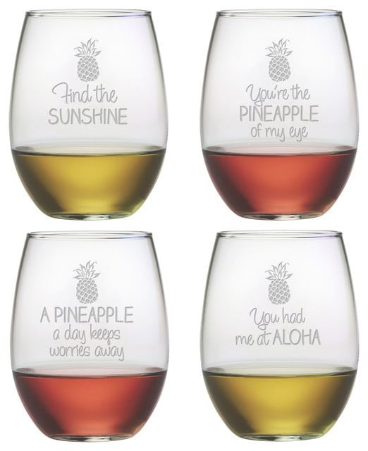 Cute Wine Glass