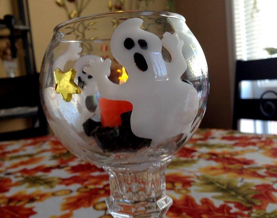 Diy Halloween Wine Glass