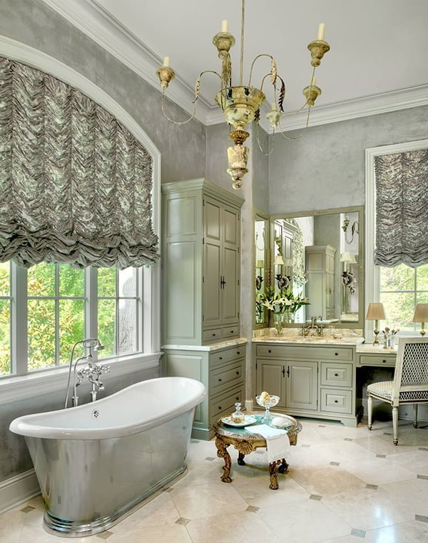 Elegant window treatments