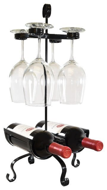 Tabletop wine rack and Holder