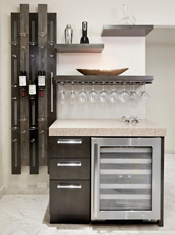 Under Counter Wine Glass Rack