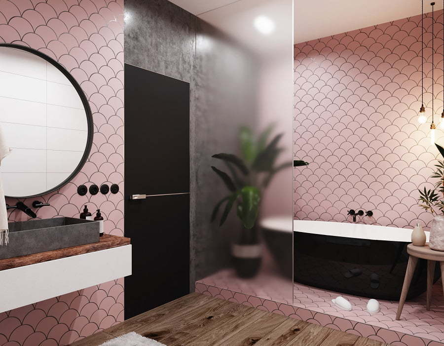bathroom birghtness